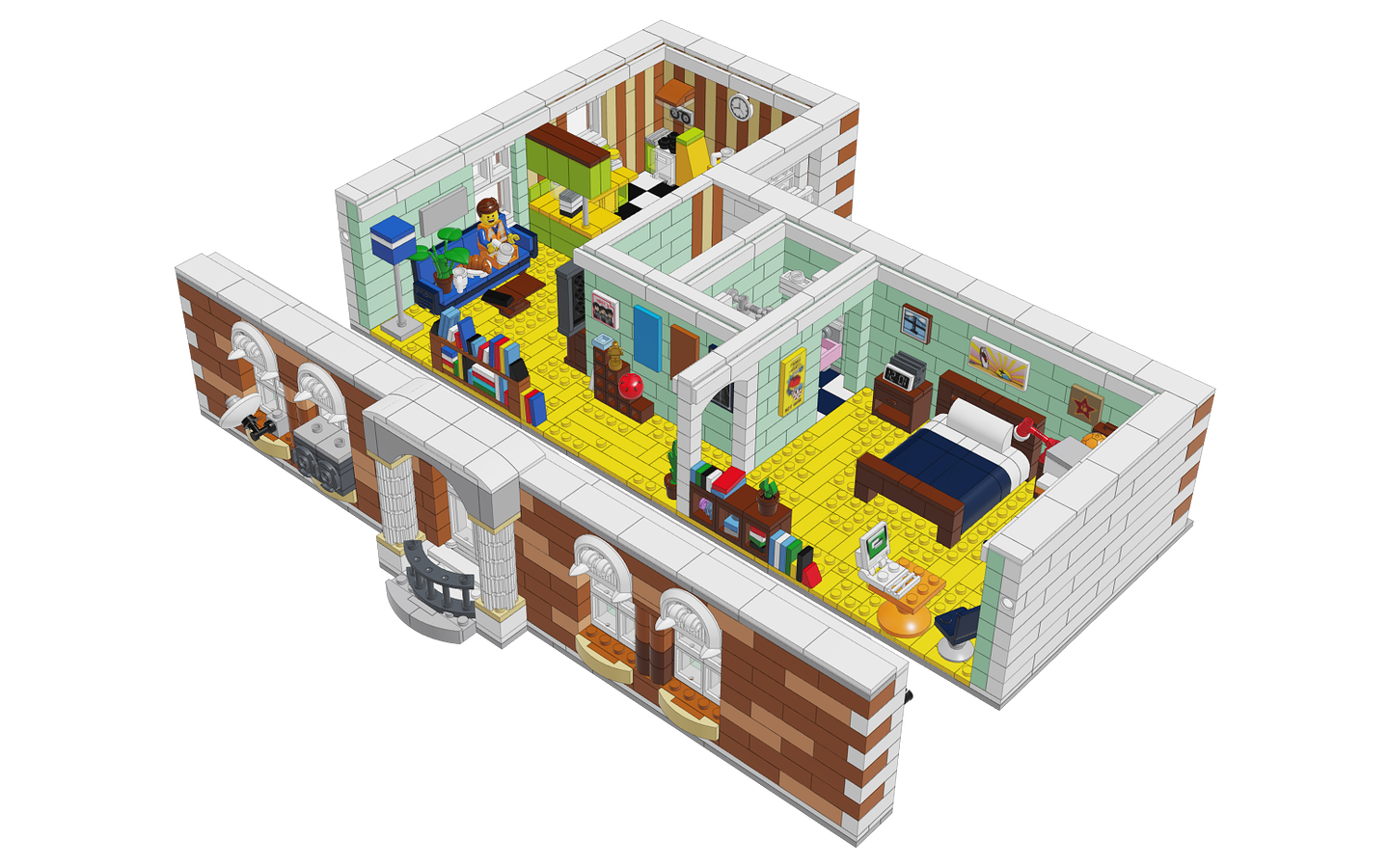 Mecabricks Com Emmet S Apartment